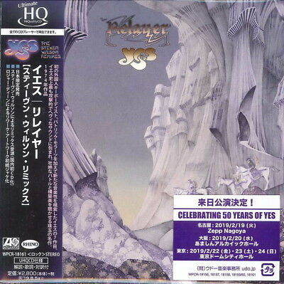 Yes-Relayer-Japan Mini Lp Uhqcd G35