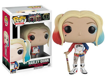 Funko Pop! Heroes Suicide Squad Harley Quinn 4 inch vinyl pop figure NEW!
