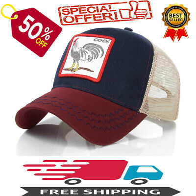 7f2a905db3bb0 -50% Goorin Bros Animal Farm Snapback Trucker Hat Cap Rooster Pecker Lion  buck