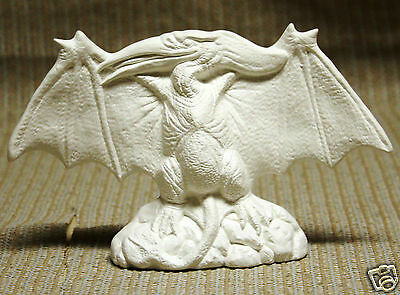 Ceramic Bisque Pterodactyl Dinosaur Nowell Mold 1889 U-Paint Ready To Paint