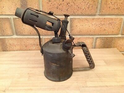 Vintage Companion Brass Blowtorch, Brass, Blowtorches, Soldering, Collectable