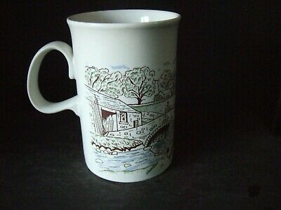 Vintage Dunoon Stoneware Mug The Yorkshire Dales Unused