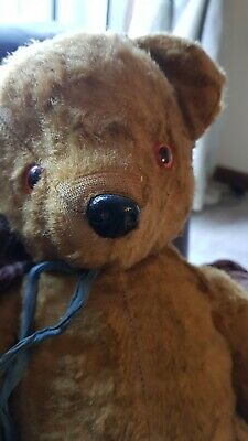 Chad Valley Musical vintage Teddy Bear, Rare with tag
