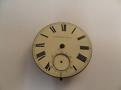 Antique Victorian Fusee Pocket Watch Movement Cattaneo Stockton On Tees .