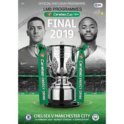 2019 Carabao Cup Final Chelsea v Manchester City Official Programme - PRE-ORDER