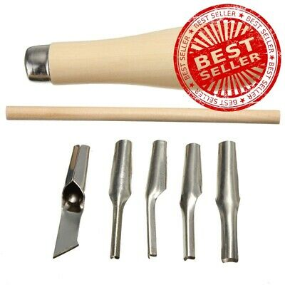 New Arrival Lino Block Cutting Rubber Stamp Carving Tools With 5 Blade