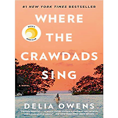 Where the Crawdads Sing by Delia Owens Best Seller Clear PDF Super Quality Book
