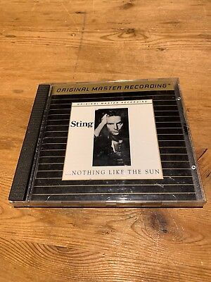 MFSL Gold-CD: Sting, ...nothing like the sun