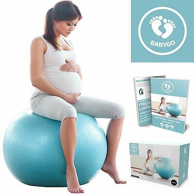 Birthing Ball Pregnancy Maternity & Labour Ball With Free Trimester Specific Exe