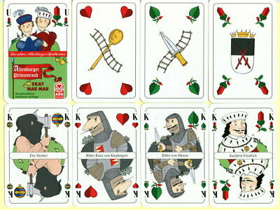 Spielkarten playing cards jeu de cartes Sonderbild Altenburger Prinzenraub