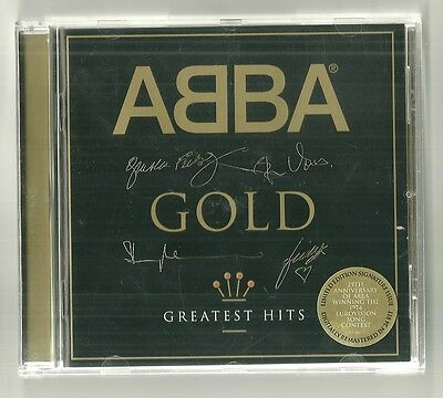 ABBA - 'Gold; Greatest Hits'  Limited Edition Signature Issue