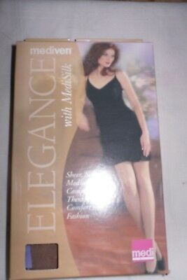 Mediven Compression 12-16 #03805 Size E Closed Toe Thigh w/topband Color Beige