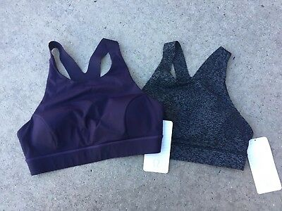 18533d7647e33 NWT Lululemon Stash   Run Bra 8~ Neon Pink Pockets Pads Inc Luxtreme Energy   68.