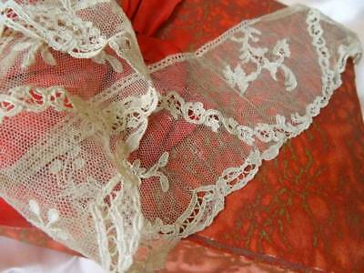 A Charming Length 18th Century Alencon Lace on Tulle