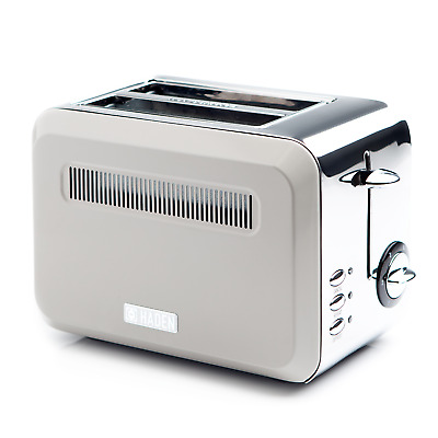 Haden Cotswold Putty 2 Slice Toaster