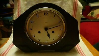 Antique Enfield Clock For Spares Or Repairs