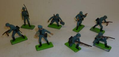Group Of Britains Deetail 1970's German Infantry Soldiers