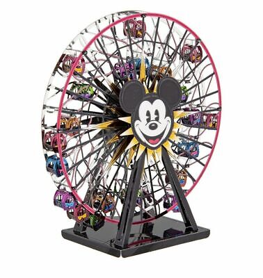 Disney Parks Exclusive Mickey's Fun Wheel Metal Earth 3D Colored Model NEW