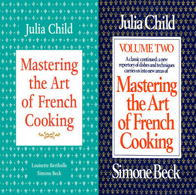 Mastering The Art Of French Cooking Volume 1 & Volume 2 E-Delivery [ PDF ]