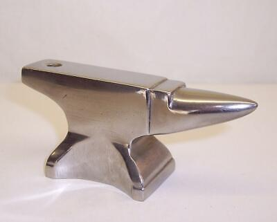 HEAVY Solid POLISHED STEEL Miniature ANVIL Craft/Jewellery Making QUALITY MADE