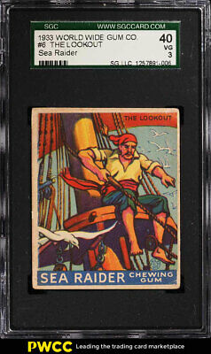 1933 World Wide Sea Raiders The Lookout #6 SGC 3 VG (PWCC)