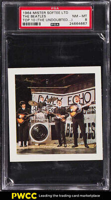 1964 Mister Softee Top 10 The Beatles THE UNDOUBTED PSA 8 NM-MT (PWCC)