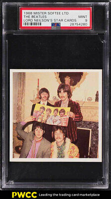 1968 Mister Softee Lord Neilson's Star Cards The Beatles PSA 9 MINT (PWCC)