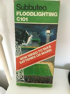 SUBBUTEO C101  FLOODLIGHTS  boxed   looks like never been used