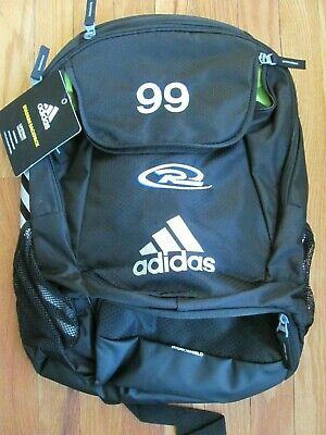 adidas Climaproof Stadium Team Gear Up Backpack Black with Rush Logo    99  shown 4df1c0a31df50