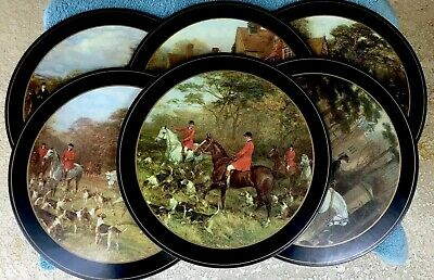 Pimpernel Placemats Round / Set Of Six / Unused / Original box and paperwork!