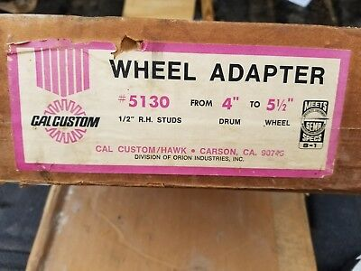 "Wheel Adapter 4"" To 5 1/2"" Cal Custom/hawk"