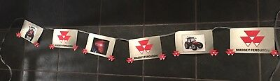 Genuine Massey Ferguson dealer flag bunting 4300 series tractor brochure leaflet