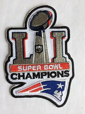 New England PATRIOTS Patch / NFL Super Bowl 51 Champs 2/5/17 / Collectible.
