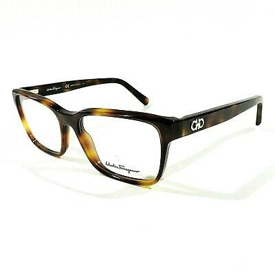 445c4711462 New SALVATORE FERRAGAMO Eyeglasses RX Frame SF2790 214 Tortoise Brown  54-16-140
