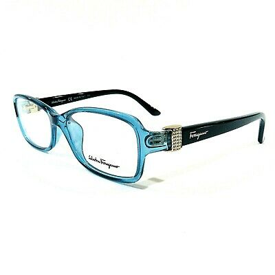 75809efc73 New SALVATORE FERRAGAMO Optical Eyeglasses Frame SF2654R 440 Turquoise  54-16-135