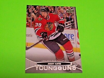 2011-12 UD Young Guns #462 JIMMY HAYES RC ~ ROOKIE upper deck ref # 17 18 19