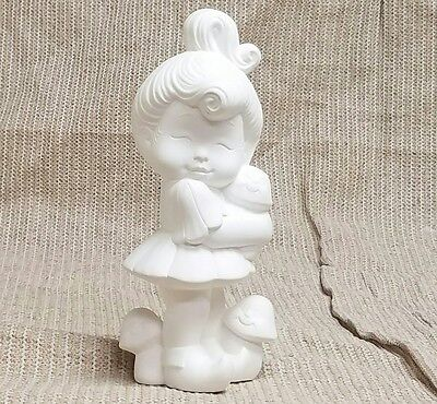 Ceramic Bisque Sweet Tot Pixie Standing Donas Mold 0882 U-Paint Ready To Paint