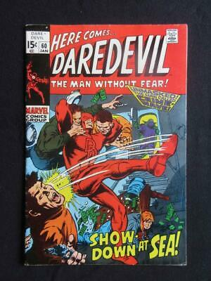 Daredevil #60 MARVEL 1970 - HIGH GRADE - Stan Lee comics, Marvel!