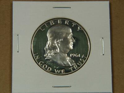 1961 Franklin Half Dollar Silver Proof Coin