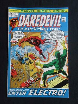 Daredevil #87 MARVEL 1972 - NEAR MINT 9.8 NM - Stan Lee comics, Avengers!