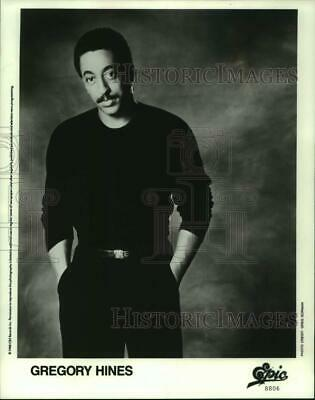 1988 Press Photo Gregory Hines, Actor, and Singer - lrp16634