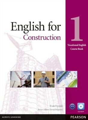 English for Construction Level 1 Coursebook and CD-ROM Pack (Voca...