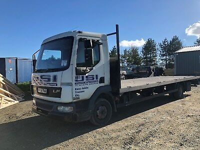 7.5 t   flatbed lorry
