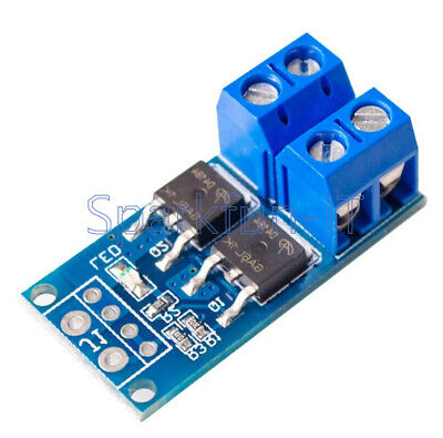 400W 15A Trigger Switch Driver Module Dual MOS PWM Electronic Switch Panel
