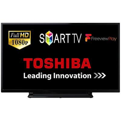 """Toshiba 40L2863DB 40"""" Smart D-LED TV Full HD Built-In WiFi Freeview Play HDMI"""