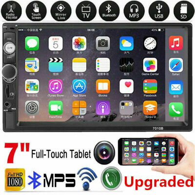 """7"""" 2 Din HD Car FM/MP5 Player Support USB/AUX TF CAR Android / IOS Mirror Link"""