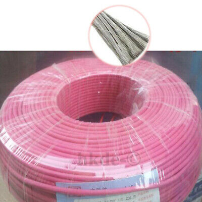 Rose Flexible Silicone Fil de Cable Copper Tinned UL3239 18/20/22/24/26AWG