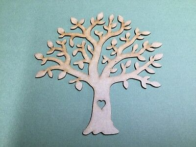 Tree 150mm  D2H Family tree wooden Laser cut  MDF