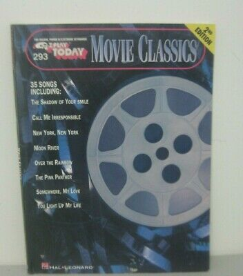 Movie Ballads 2nd Edition Sheet Music E-Z Play Today Book NEW 000100040