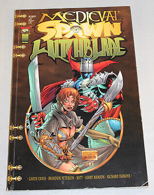 Medieval Spawn  Witchblade Collected Edition Top Cow Image Graphic Novel